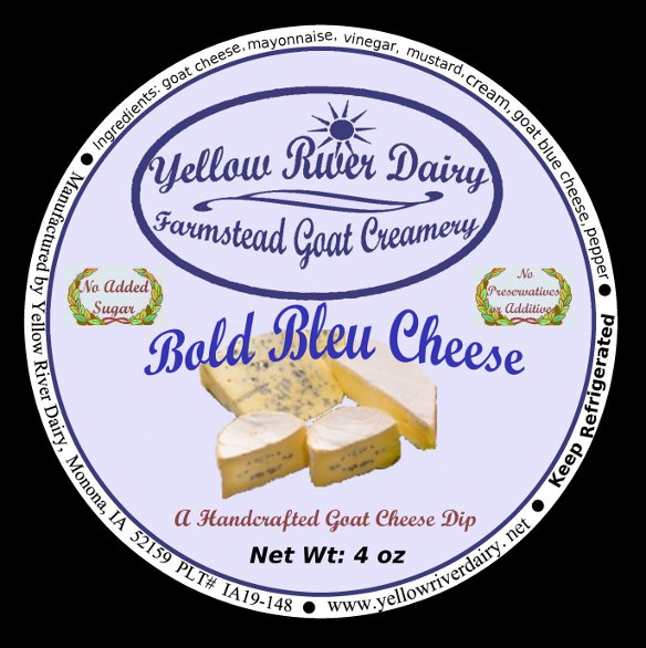 Click to enlarge Goat Cheese Dip/Bold Bleu Cheese