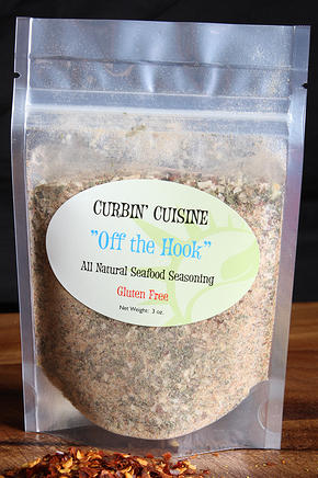 Click to enlarge Off the Hook Seafood Seasoning