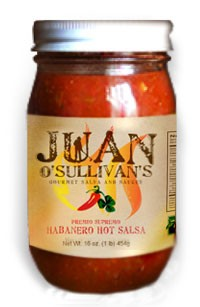 Click to enlarge Juan's Premio Supremo Habanero Hot Salsa