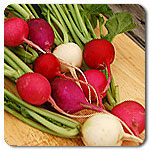 Click to enlarge Valentine's Day Radish