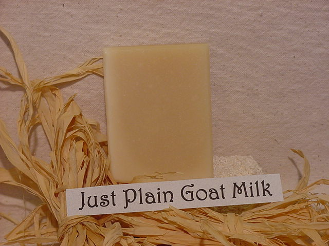 Click to enlarge Just Plain Goat Milk Soap