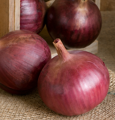 Click to enlarge Onions: Red dry