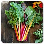 Click to enlarge Certified Naturally Grown Rainbow Chard