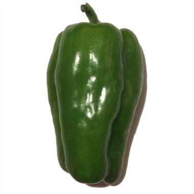 Click to enlarge Green Bell Peppers