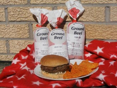Click to enlarge Ground Beef (from No Hormone Treated Cattle)