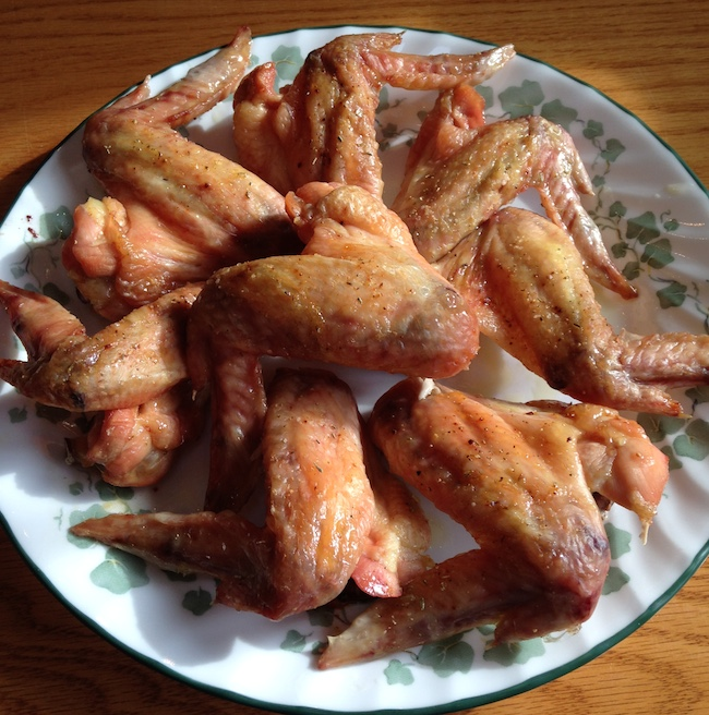 Click to enlarge Pasture Raised Chicken Wings (x8) 1.9-2.0 lbs fed GMO-free Feed
