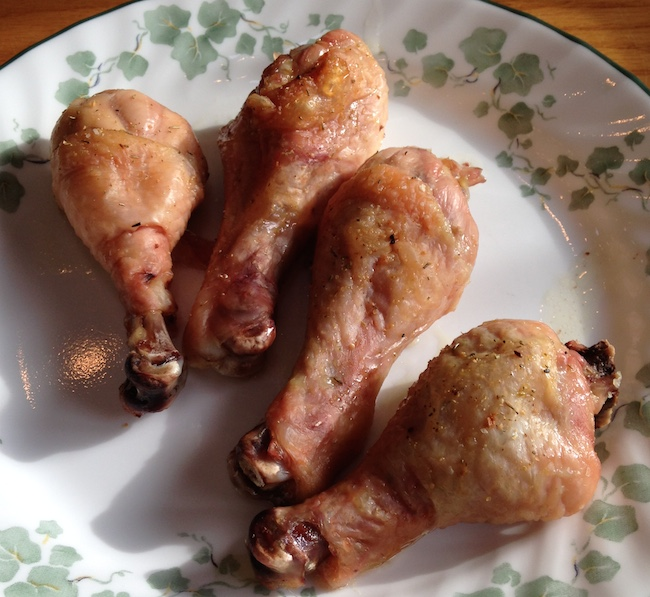 Click to enlarge Pasture Raised Chicken Drumsticks (x4) fed GMO-free Feed