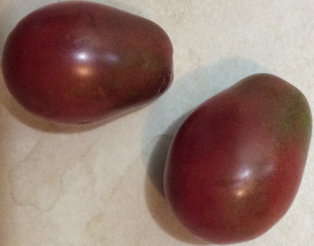 Click to enlarge Purple Pear Tomato