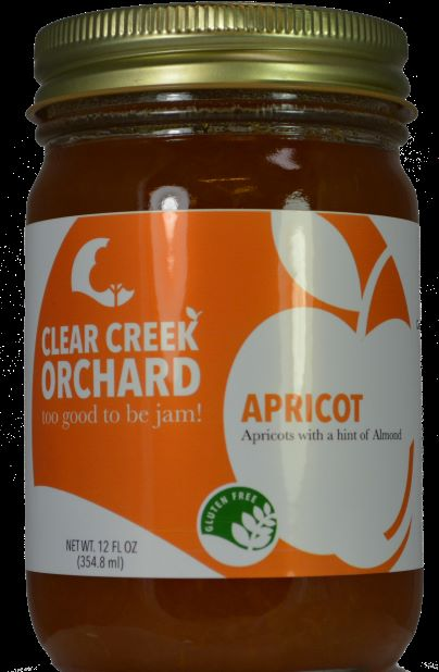 Click to enlarge Apricot Jam 12oz Jar