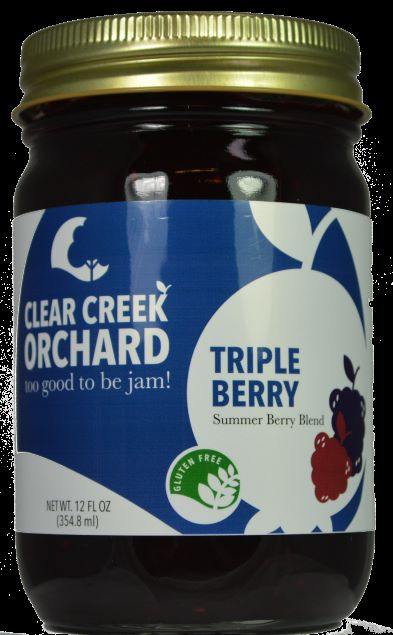 Click to enlarge Triple Berry 12oz Jar