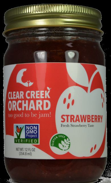 Click to enlarge Strawberry 12oz Jar