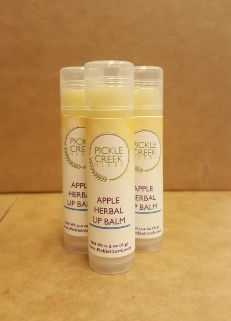 Click to enlarge Apple Herbal Lip Balm