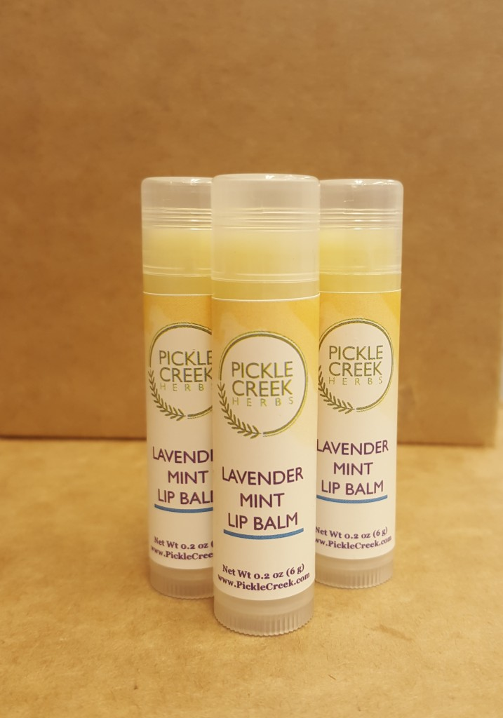 Click to enlarge Lavender Mint Herbal Lip Balm