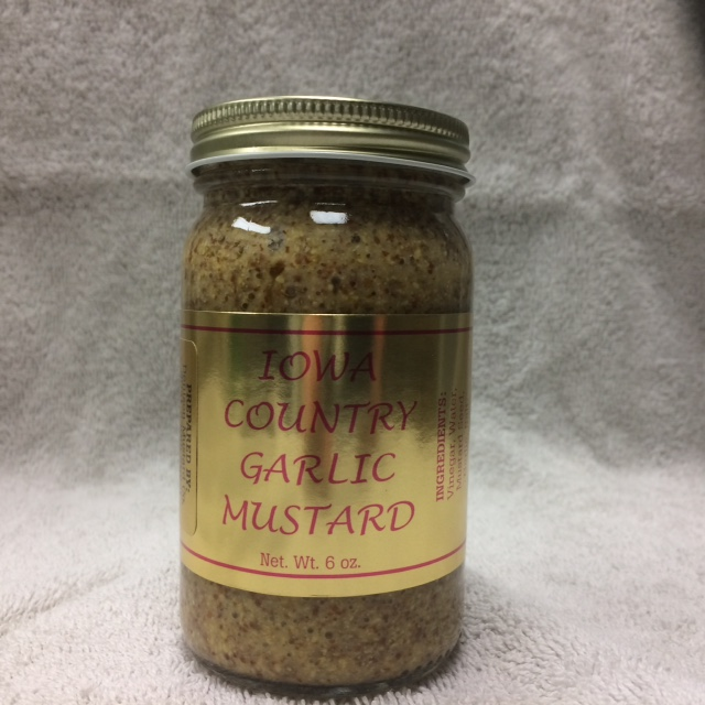 Click to enlarge Iowa Country Garlic Mustard 6 oz