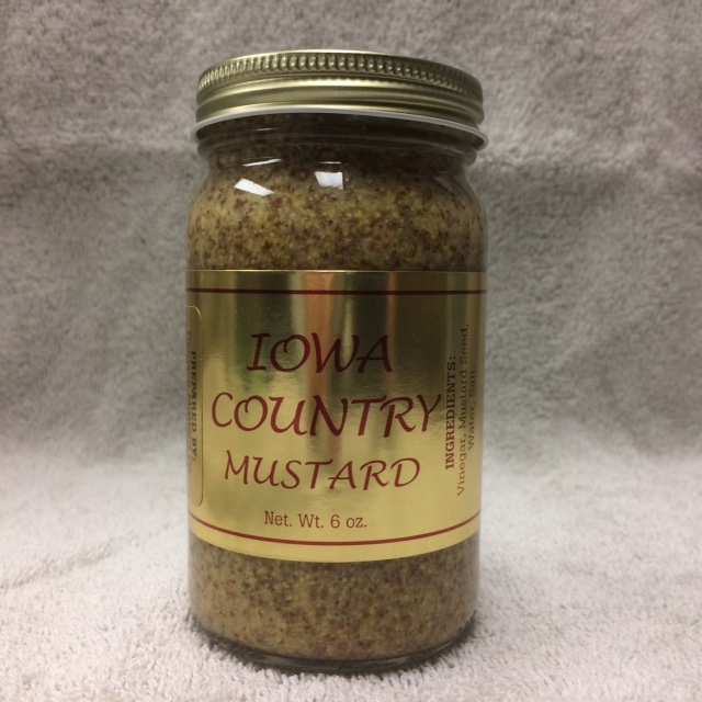 Click to enlarge Iowa Country Mustard 6 oz
