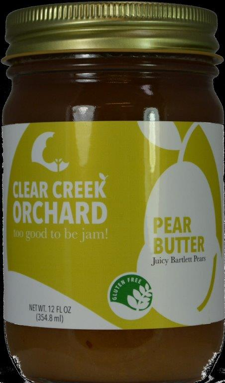 Click to enlarge Pear Butter 12oz Jar
