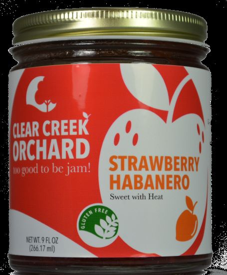 Click to enlarge Strawberry Habanero, 9oz Jar