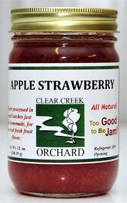 Click to enlarge Apple Strawberry 12oz Jar