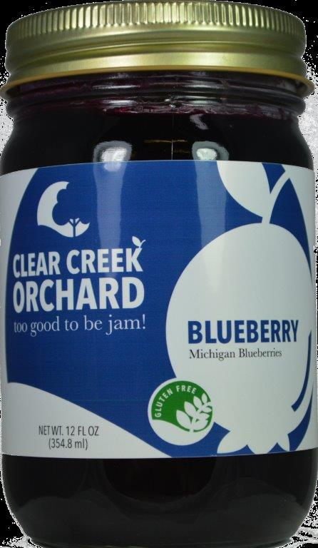 Click to enlarge Blueberry 12oz Jar