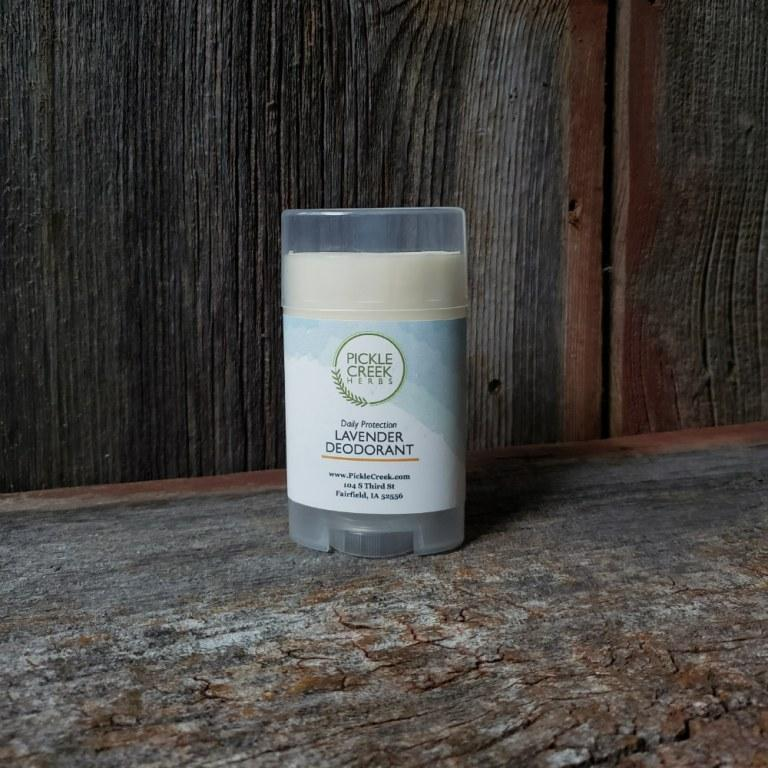 Click to enlarge Lavender All-Natural Deodorant