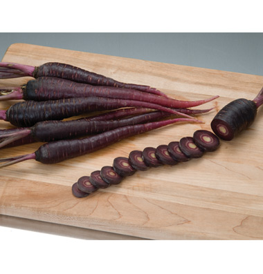 Click to enlarge Deep Purple Carrots