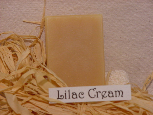 Click to enlarge Lilac Cream Soap