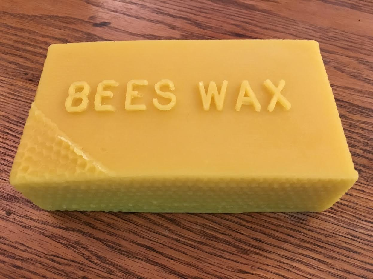 Click to enlarge Beeswax Bar - 1lb