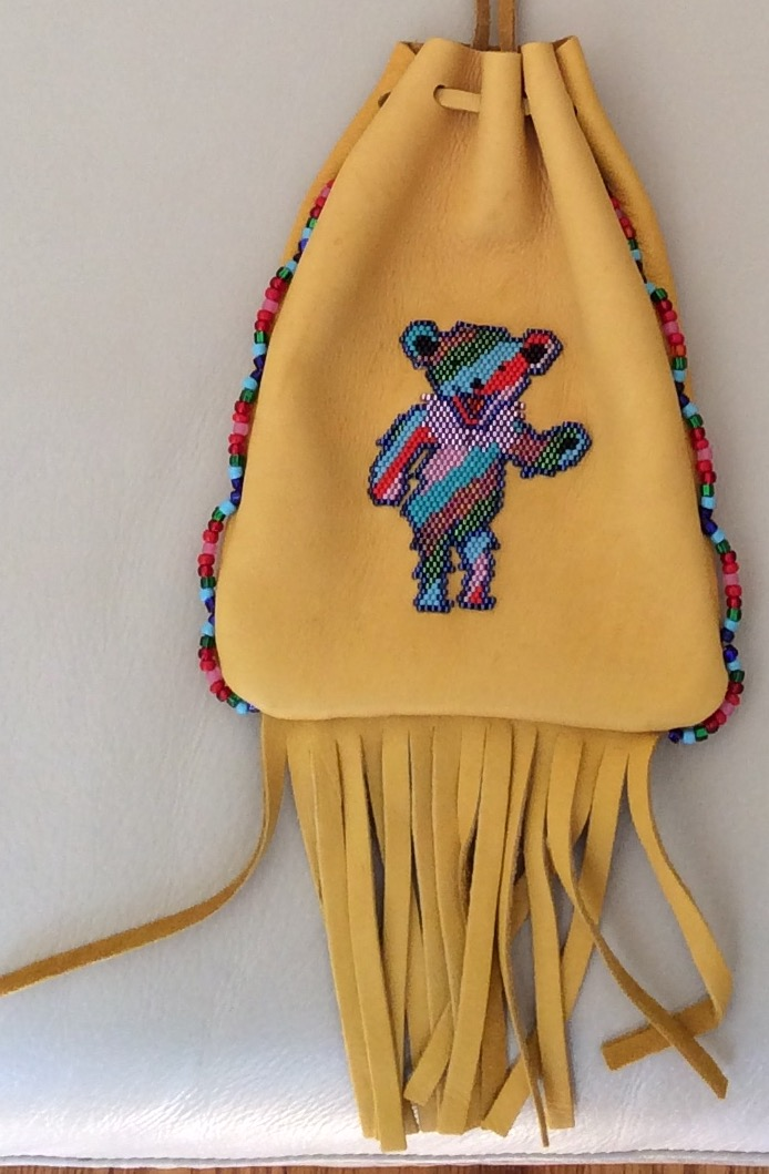 Click to enlarge Dancing Bear Medicine Bag