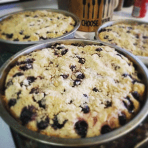 Click to enlarge Aronia Berry Focaccia