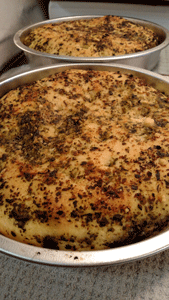 Click to enlarge Basil Pesto Focaccia