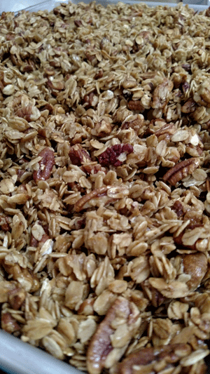 Click to enlarge Coconut Pecan Chocolate Chip Granola