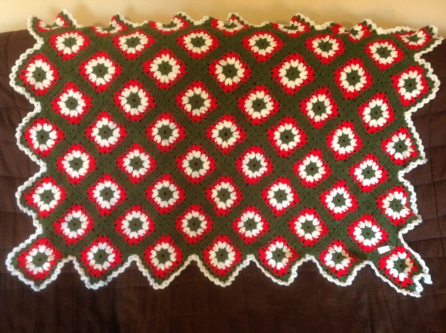 Click to enlarge ''Tis The Season Afghan