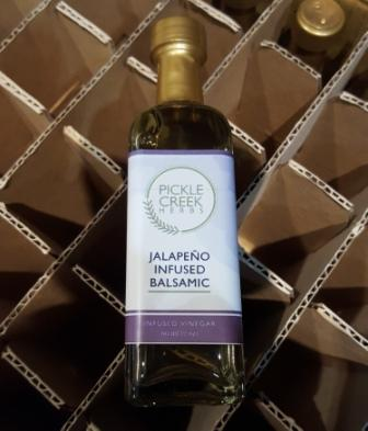 Click to enlarge Jalapeño Infused Balsamic Vinegar