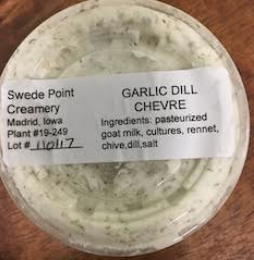 Click to enlarge Garlic Dill Chèvre