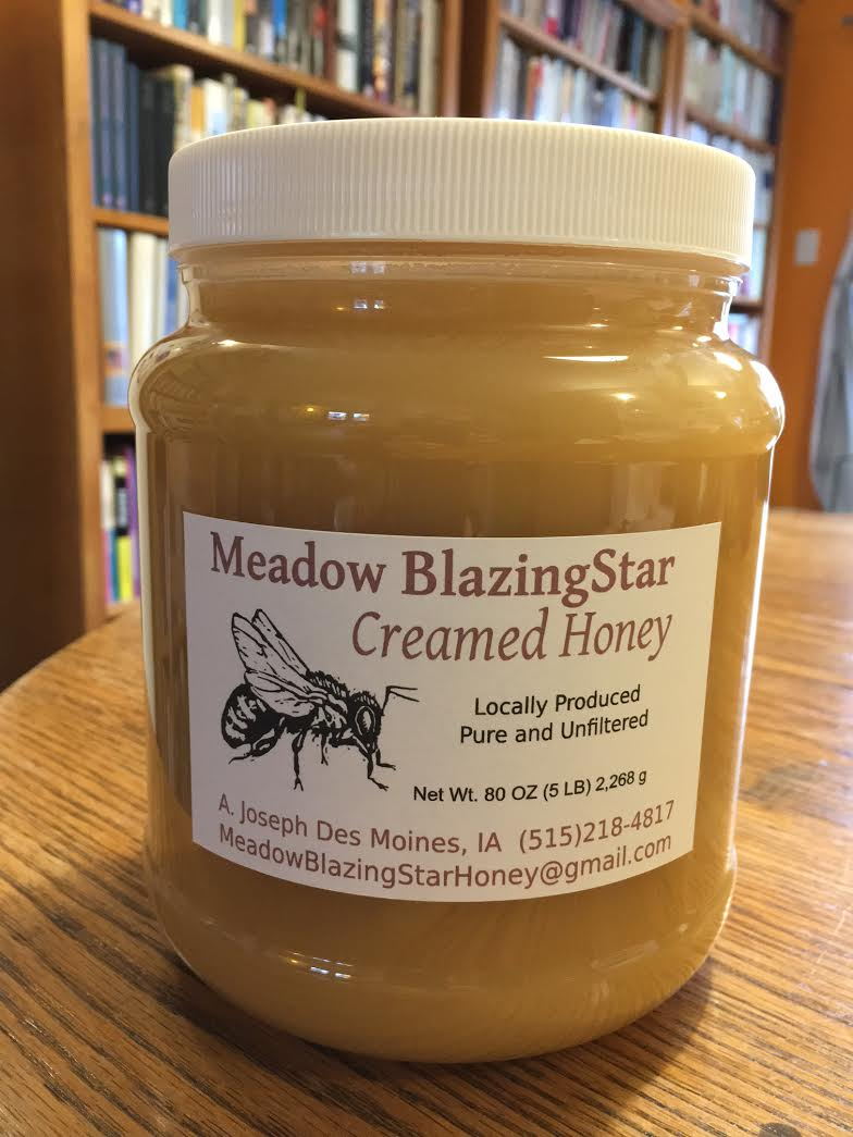 Click to enlarge Creamed Honey - (c) 5 lb plastic jar