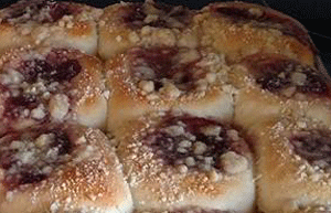 Click to enlarge Strawberry Kolaches