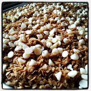 Click to enlarge White Chocolate Macadamia Granola