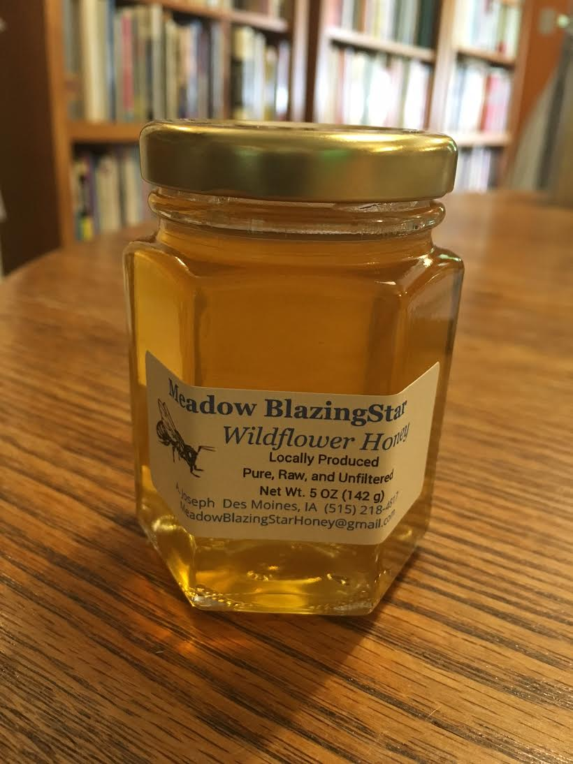 Click to enlarge Pure Raw Honey - (b) 5 oz glass jar