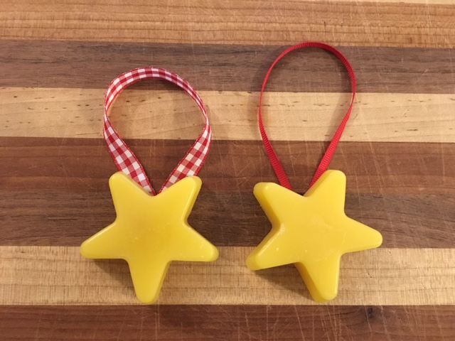Click to enlarge Beeswax Ornament - Star