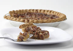 Click to enlarge Chocolate Pecan Pie 9""