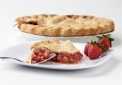 "Click to enlarge Frozen Strawberry Pie 9"" (Double Crust)"