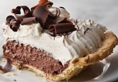 Click to enlarge Chocolate French Silk Pie 9""