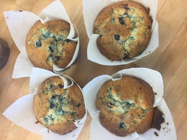 Click to enlarge Muffins - Blueberry