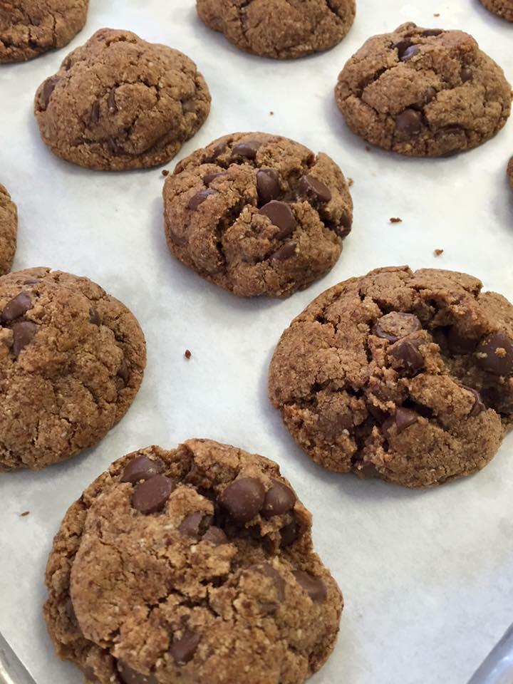 Click to enlarge Gluten Free Chocolate Chip Cookies