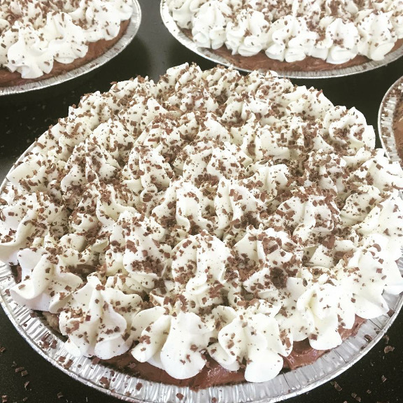 Click to enlarge French Silk Pie