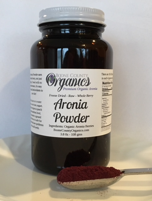 Click to enlarge Aronia Powder Freeze Dried 3.8 oz