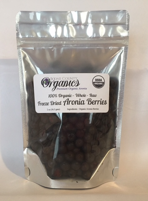 Click to enlarge Freeze Dried Whole Aronia Berries 2 oz