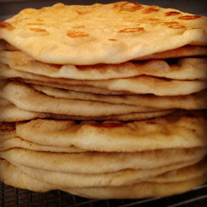 Click to enlarge Naan Flatbread