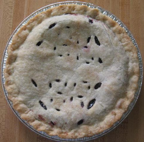 Click to enlarge Black Raspberry Pie