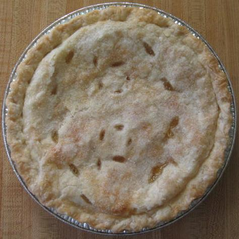 Click to enlarge Peach Pie